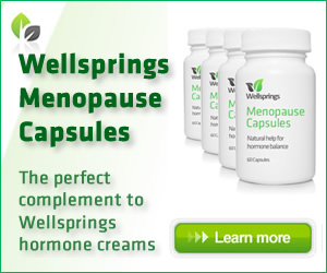Try Wellsprings Menopause Capsules